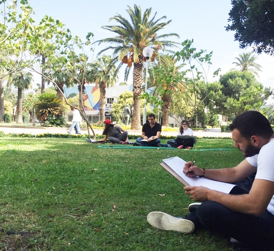 açık hava resim dersleri resim kursu